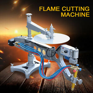 Profiling Gas Cutting Machine Auto Torch Track Burner Cutter Kit Adjusting Speed