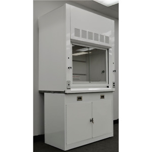 4 Chemical Laboratory Fume Hood W Storage Valves In Stock E1 165