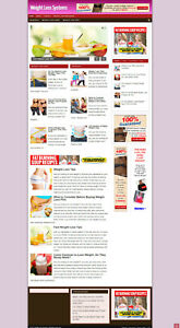 Weight Loss Systems Affiliate Website New Free Domain Hosting