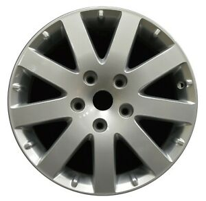 17 Chrysler Town Country 08 09 10 Factory Oem Wheel 2332 Hyper Bright Silver
