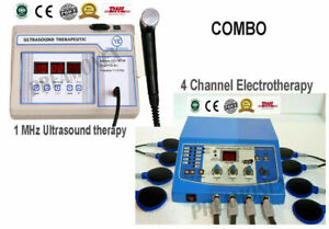 1mhz Electrotherapy Ultrasound Therapy 4 Ch Therapy Unit Combo Machine Phc