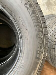 New Lt 245 75 17 Lre 10 Ply Michelin Ltx M S2 Tire