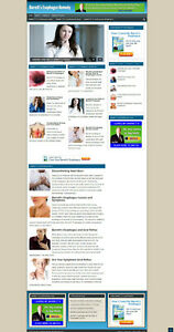 Barrett s Esophagus Website Blog Affiliate Store Banners With Free Domain