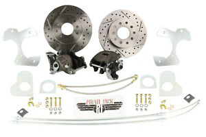 1978 88 G Body Camaro S 10 10 Bolt Rear Disc Brake Conversion Kit Drilled Rotor