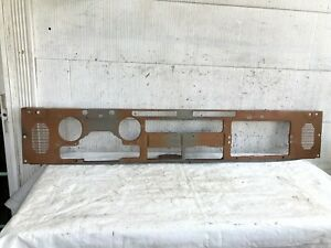 87 95 Jeep Yj Wrangler Oem Dashboard Frame Dash Metal Frame Plate Support