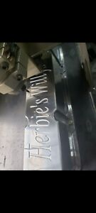 Cnc Engraved Ford 302 351w Polished Aluminum Tall Valve Covers Sbf
