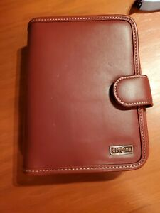 1 25 Thick Red Faux Leather Franklin Covey 365 Planner Day One Binder