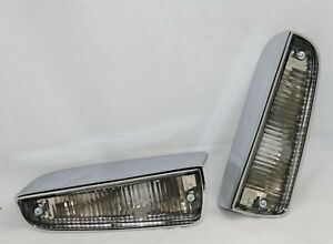 New 1963 65 Plymouth B Body Back Up Lamps