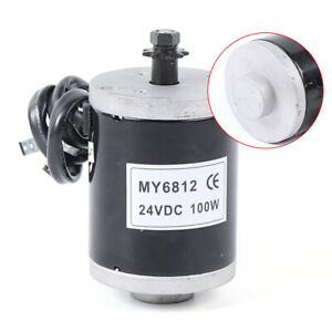 Electric Dc Motor 100w 24v High Speed Controller Electric Motor Kit My6812