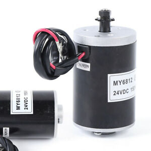 Electric Motor Kit 24v Dc 150w High Speed Controller Electric Dc Motor My6812