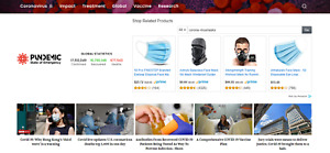 Established Profitable Pandemic News Online Business Turnkey Website