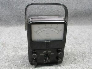 Simpson Electric Co 880 Ac dc Voltmeter 0 150 Volts tested Working