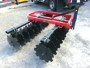 New Tennessee River Imp Hd 8 Ft Disc Harrow free 1000 Mile Delivery From Ky