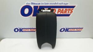 14 18 Cadillac Ats Center Floor Console Arm Rest Lid Only Black Leather