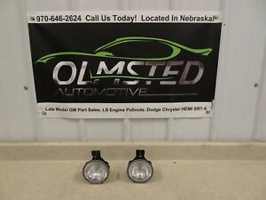 98 02 Pontiac Firebird Trans Am Fog Lights Pair Oem Gm Light Rh Lh Right Left