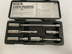 Matco Tools Spk5a 5 Pc Magnetic Spark Plug Socket Set