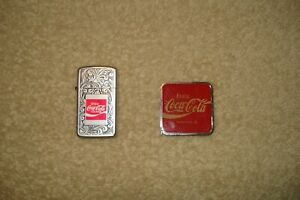 Coca Cola  Lighter BY Park  AND BARLOW TAPE MEASURE