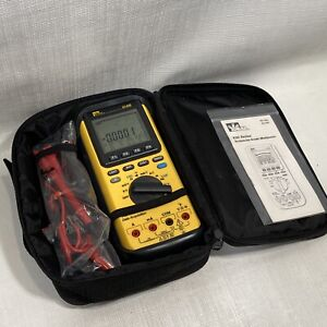 Ideal 61 635 Multimeter Technician Grade New Open Box In Case Complete