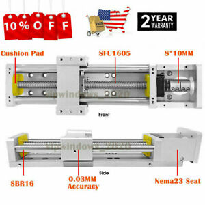 Linear Module Rail Guide Cross Sliding Table Sfu1605 Xyz Axis cnc Table us