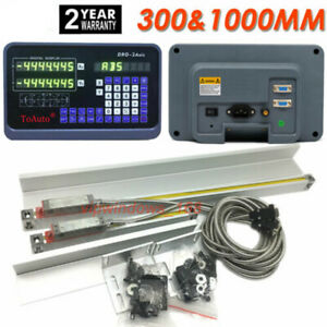 12 40 Ttl Linear Scale 2axis Digital Readout Kit Dro Display Bridgeport Mill Us