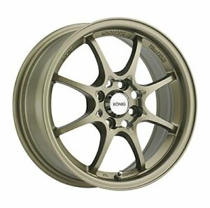 Konig Helium Bronze Wheel 15x6 5 4x100mm