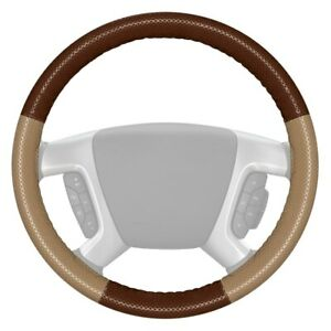For Ford F 150 12 16 Steering Wheel Cover Europerf Perforated Brown Steering