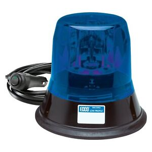Ecco 5800 Series Magnetic Mount Low Profile Rotating Blue Beacon Light