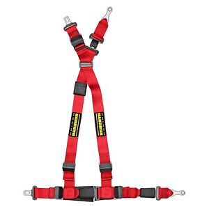 For Bmw 325xi 01 06 Quickfit Red Passenger Side Harness Set W Racing Patch