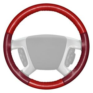 For Chevy Camaro 12 15 Steering Wheel Cover Eurotone Two color Red Steering