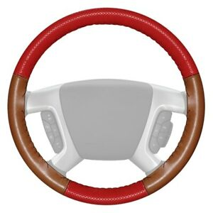 For Chevy Camaro 12 15 Steering Wheel Cover Europerf Perforated Red Steering