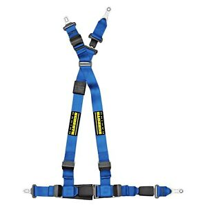 For Mini Cooper 07 13 Quickfit Blue Passenger Side Harness Set W Racing Patch