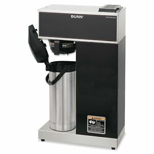 Bunn Vpr aps Pourover Thermal Coffee Brewer With 2 2l Airpot Stainless Steel