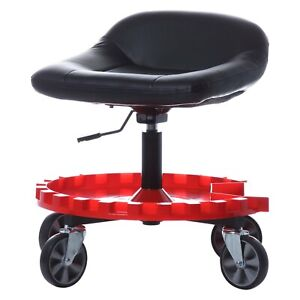 Monster Gear 400 Lb 13 5 17 5 Tractor Style Creeper Seat Adjustable Height