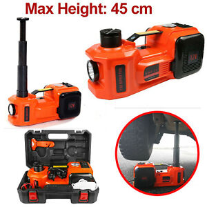 Dc12v 5 Ton Automotive Electric Hydraulic Floor Jack Car Truck Tire Change Lift