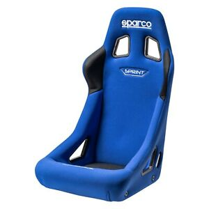 Sparco 008235az Sprint Series Racing Seat Blue Fabric