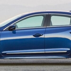 For Acura Ilx 2013 2020 Dawn Chrome Lower Body Side Moldings