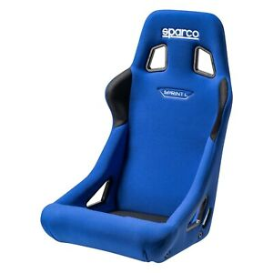 Sparco 008234laz Sprint l Series Racing Seat Blue Fabric