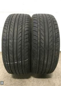 2x P225 40r18 Nankang Noble Sport Ns 20 9 32 Used Tires