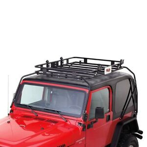 For Jeep Wrangler 1997 2003 Warrior Replacement Roof Cargo Basket