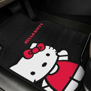 Plasticolor Hello Kitty Core Design 1st Row Floor Mats