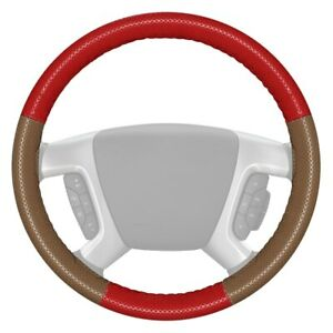 For Toyota Tacoma 12 20 Steering Wheel Cover Europerf Perforated Red Steering