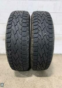 2x P245 70r17 Milestar Patagonia A t 10 32 Used Tires