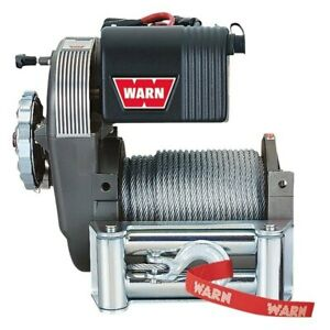 Warn 38631 8 000 Lbs M8274 50 Series Self recovery Electric Winch W Wire Rope