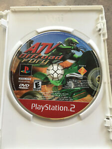 ATV Offroad Fury (Sony PlayStation 2  2001) NO TRACKING disc only ps2