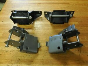 1966 1970 Ford Mustang 289 302 351 V8 Motor Engine Mount Mounts Set 67 68 69