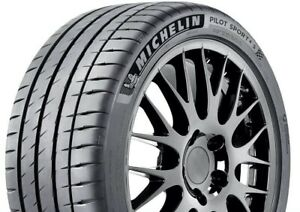 1 New Michelin Pilot Sport 4 S 104y 30k Mile Tire 2953519 295 35 19 29535r19