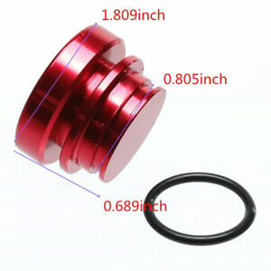 Red Eject Button Car Cigarette Lighter Replacement 12v Accessory Push Button