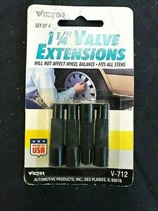 L K Package Of 4 Victor 1 1 4 Tire Or Truck Valve Extensions V 712