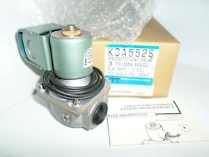 new In Box Itt K3a552s Magnetic Solenoid Gas Valve 3 4 Npt 120vac 3 Psi