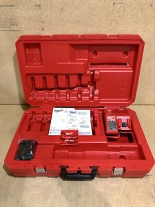 Milwaukee M18 Force Logic Press Tool Kit 1 2 2 Jaws Case Only W Charger